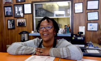 Antrice Nelson, third generation operator of Nelson Brother's Cafe, discusses her family's business history in the 4th Avenue District. (Mark Almond)