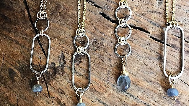 Anne Moore is an Alabama Maker crafting simple but stunning jewelry