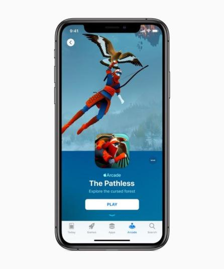 Apple announced plans to expand in the gaming industry with Apple Arcade. (Apple Inc.)