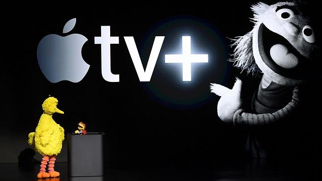 Apple, taking on Netflix, shows off Apple TV+ video service