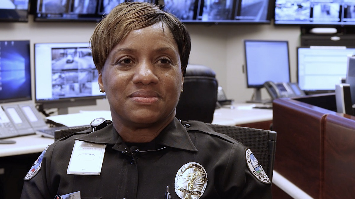 Kista Smith Is An Alabama Power Unsung Hero Who Loves To Protect Others