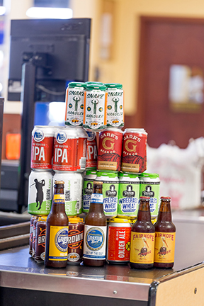 Renfroe's has a selection of more than 150 craft beers. (Bryan Carter/Alabama Retail Association)
