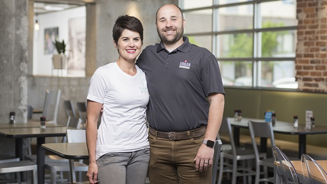 Urban Cookhouse's David and Andrea Snyder are concept creators, not just restaurant owners
