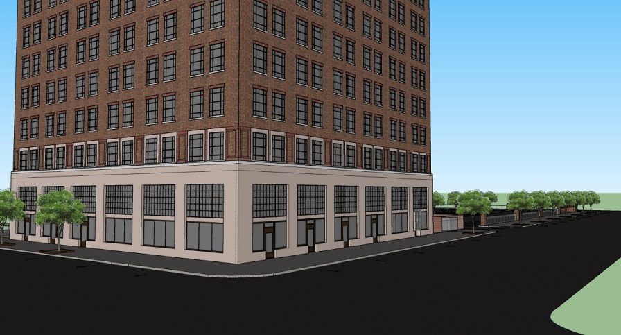 The Stonewall/American Life building is about to go from eyesore to workforce housing thanks to opportunity zone investment. (contributed)