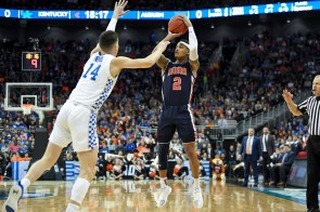 Bryce Brown scored 17 of his 24 points in the second half to lead the Auburn Tigers over the Kentucky Wildcats. (Wade Rackley /AU Athletics)