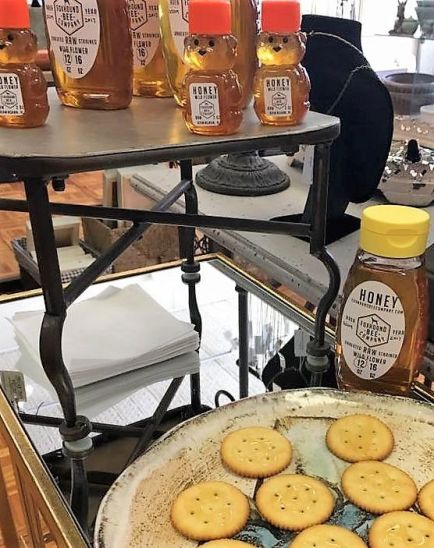 Foxhound Bee Co. honey is popular. (Contributed)
