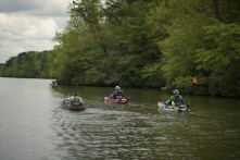 This year boaters and kayakers got in on the Dam Ride action. (Alabama NewsCenter)