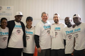 Alabama Power was one of many companies represented at the Chick-fil-A Corporate Challenge in Birmingham. (Chris Jones/Alabama NewsCenter)