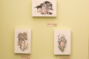 Chi Roach applies her background in psychology to her artwork. (Phil Free / Alabama NewsCenter)