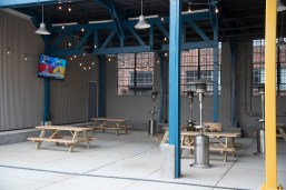Birmingham District Brewing shoots for a welcoming, relaxing vibe. (Brittany Faush/Alabama NewsCenter)