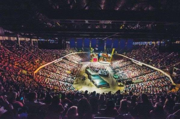 The last Bassmaster Classic to be held at the BJCC was in 2014. (B.A.S.S.)