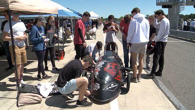 Electrathon Alabama participants zip toward another fantastic finish at Barber Motorsports Park