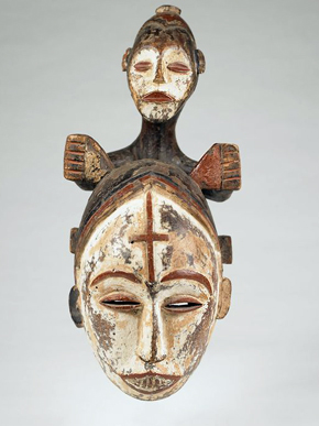 Queen of Women Mask (Eze Nwanyi) by the Northeastern Igbo people, late 19th to early 20th century. Museum purchase with funds given in memory of Mrs. Dorothy Steiner. (From Encyclopedia of Alabama, photo courtesy of the Birmingham Museum of Art)