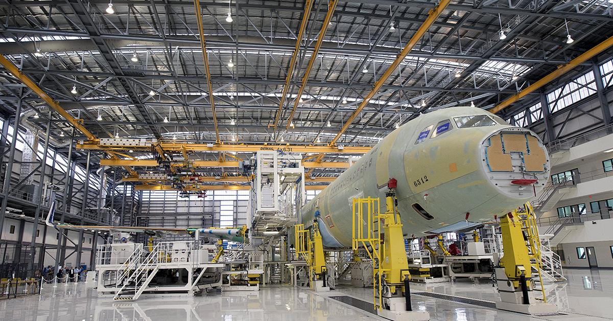 Airbus in Mobile has been a major catalyst in the growth of Alabama's aerospace industry. (contributed)