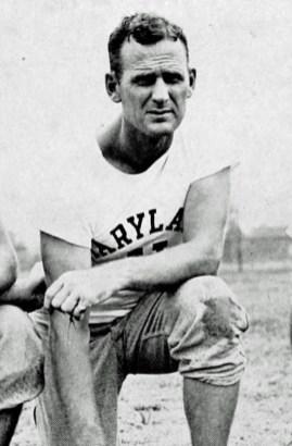 Bear Bryant, head football coach, at the University of Maryland, 1945. (The Terrapin, The University of Maryland year book, 1946)