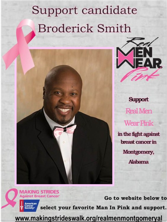 Broderick Smith enjoys serving his community through numerous volunteer opportunities. (contributed)