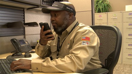 Broderick Smith has worked for Alabama Power for more than 21 years. (Dennis Washington / Alabama NewsCenter)