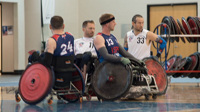 Wheelchair rugby tournament brings world's best to Birmingham ahead of 2020 Olympics