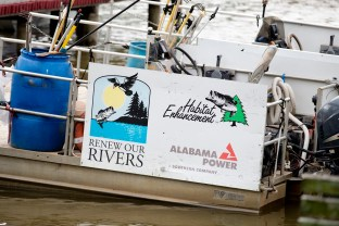 Alabama Power's Renew Our Rivers volunteer cleanup program began in Gadsden in 2000. (Nik Layman/Alabama NewsCenter)