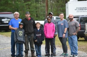 Young volunteers receive a lesson on environmental stewardship. (file)