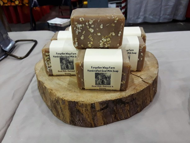 Forgotten Ways Farm uses goat milk to make soap, body butter and lotions. (Brittany Faush / Alabama NewsCenter)