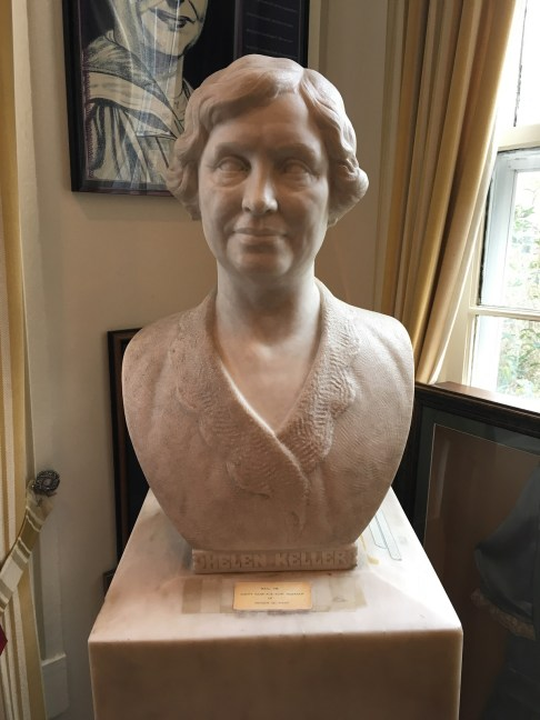 A statue honoring Helen Keller will be erected at the Alabama State Capitol grounds. (file)