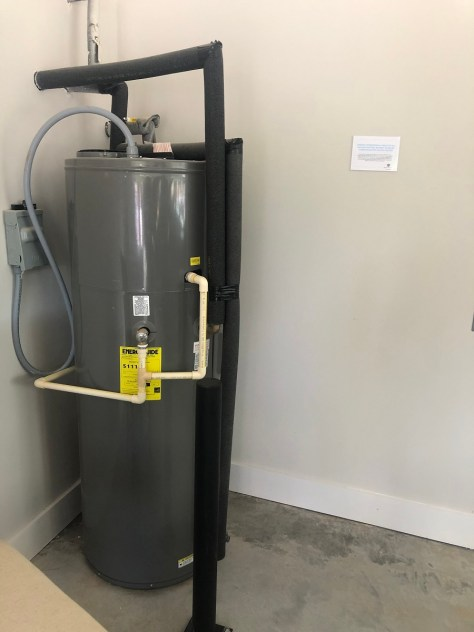 A heat pump water heater is among the energy-efficient features in a Smart Neighborhood® home. (contributed)