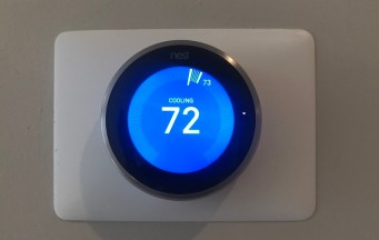 Nest Learning thermostats help save energy and provide more control over the home's temperature when the owner is at home or away. (contributed)