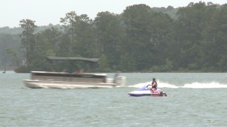Nearby Lake Martin is a tourism attraction for Alexander City (Dennis Washington / Alabama NewsCenter)