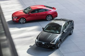The 2020 Hyundai Sonata is among the vehicles produced at Hyundai Motor Manufacturing Alabama. (Hyundai)