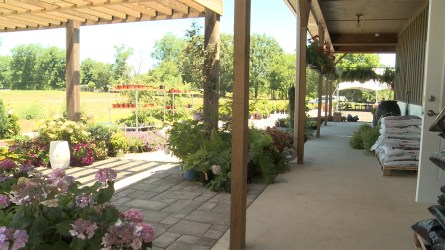 The Rainbow Garden Center at Rainbow Omega in Eastaboga. (Dennis Washington/Alabama NewsCenter)