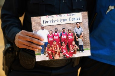 Lillie Leatherwood has a heart for the young people in her community and has spent much of her police career working with them. (Alabama Power Foundation)