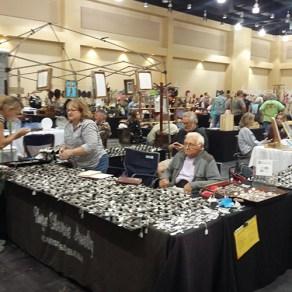 Jim Waldrop of Clanton is a jewelry maker. (Mack Gothard)