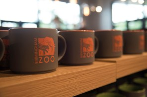 The Birmingham Zoo now has a much roomier two-story welcome center. (Brittany Faush/Alabama NewsCenter)