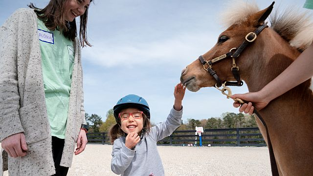 Storybook Farm uses equine therapy to help heal emotional and physical disabilities