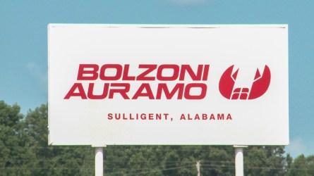 Bolzoni Auramo operates a manufacturing plant in Sulligent. (Dennis Washington / Alabama NewsCenter)