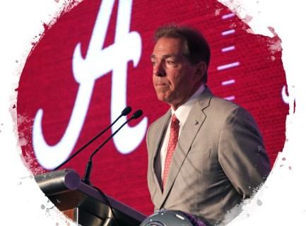 Alabama coach Nick Saban. (Alabama NewsCenter file)
