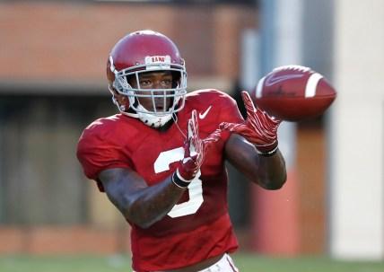 Alabama defensive back Daniel Wright (3). (Robert Sutton/University of Alabama Athletics)