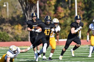 Sophomore Justin Robertson adds to the depth of BSC's running game. (Birmingham-Southern Athletics)