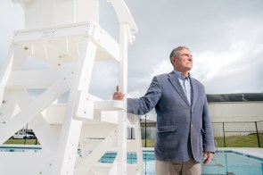 Ozark Mayor Bob Bunting made opening a top-notch community pool a major theme of his 2016 campaign. (Alabama Power Foundation)
