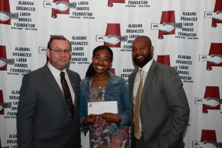 """The Alabama Organized Labor Awards Foundation recently honored those who, in the words of chairman David Clark, """"have distinguished themselves through unselfish service and leadership to the working people of Alabama."""" The group also presented $25,000 in academic and trade scholarships. (contributed)"""