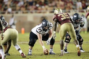 Samford center Nate Lee is part of an experienced offensive line. (Marvin Gentry)