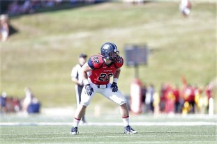 Samford linebacker Nathan East is part of a Bulldog defense that is expected to be a strength of the team. (Marvin Gentry)