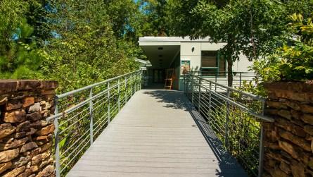 The entrance to the Ruffner Mountain Nature Center (Dennis Washington / Alabama NewsCenter)