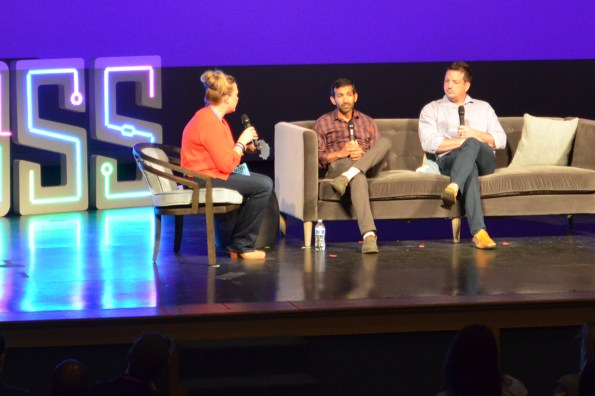 One of the panel discussions at Sloss Tech 2019. (Michael Tomberlin / Alabama NewsCenter)