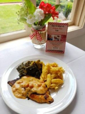 Enjoy a delicious meal at Soul Food Saturday Aug. 10, 17 and 31 at Arlington Antebellum Home and Gardens. (contributed)