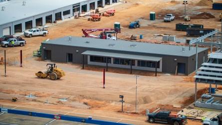 A new concession stand inside the Talladega Garage Experience. (Dennis Washington / Alabama NewsCenter)