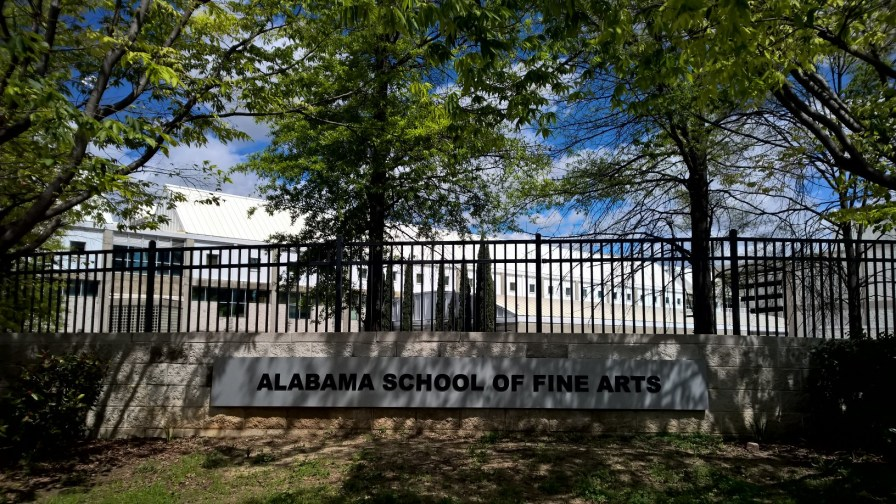 Alabama School of Fine Arts, 2017. (Erin Harney/Alabama NewsCenter)