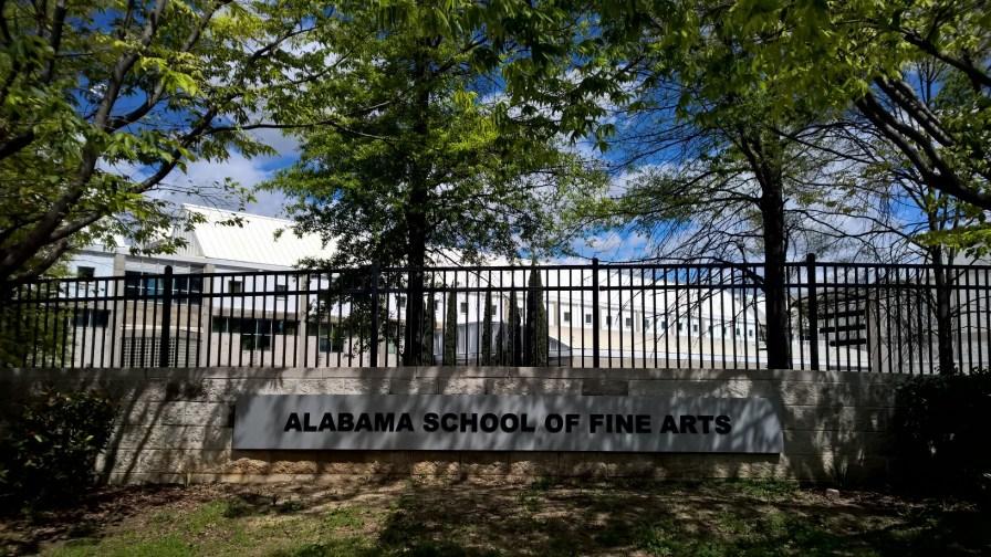 Alabama School of Fine Arts, 2017. (Erin Harney/Alabama NewsCenter)