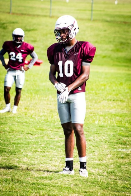 Coach Connell Maynor is expecting a big year from Amari Holloway at corner. (Alabama A&M Athletics)